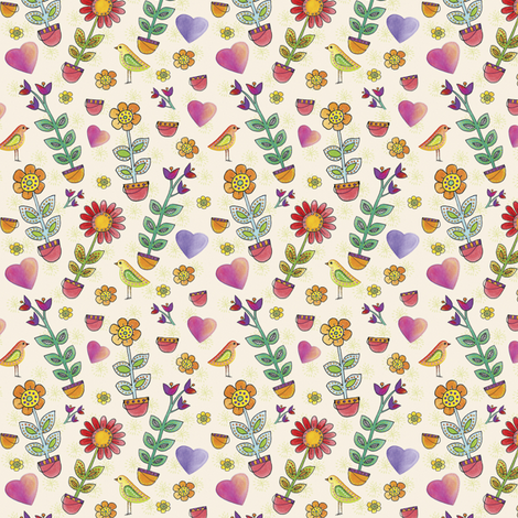 Garden Show | alexcolombo.com fabric by studioalex on Spoonflower - custom fabric