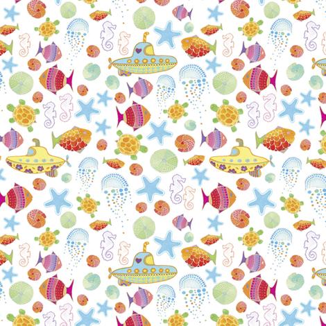 Under the Sea | alexcolombo.com fabric by studioalex on Spoonflower - custom fabric