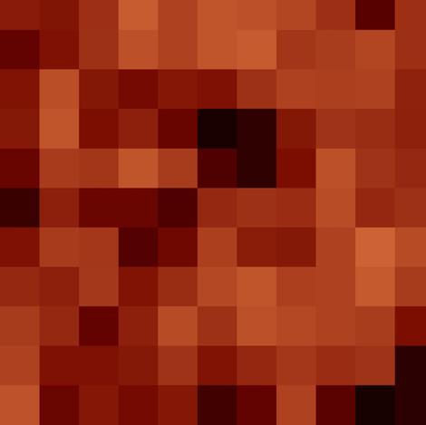 pixel mahogany fabric by paragonstudios on Spoonflower - custom fabric