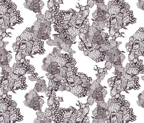 lace fabric by katarina on Spoonflower - custom fabric