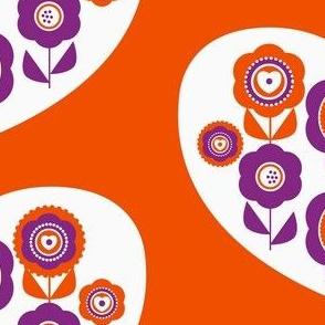 graphic flower heart