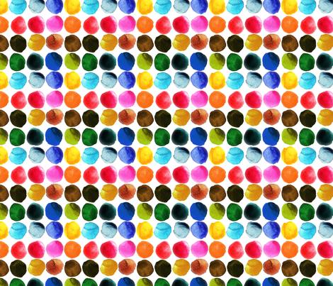 aquarelle_arc_en_ciel_M fabric by nadja_petremand on Spoonflower - custom fabric