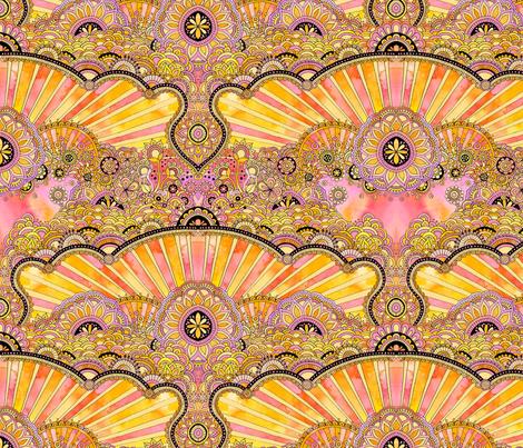It Is Shining fabric by ★lucy★santana★ on Spoonflower - custom fabric