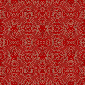 Red Khaki Haze