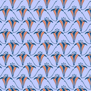 Tangerine Iris