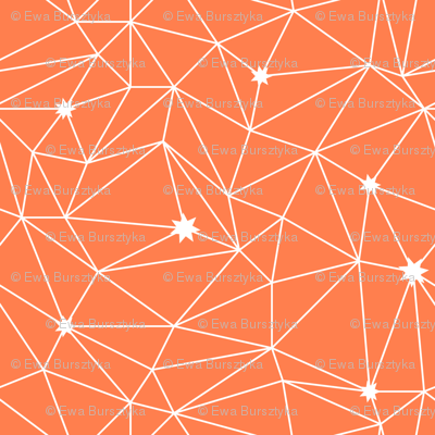 constellations - orange