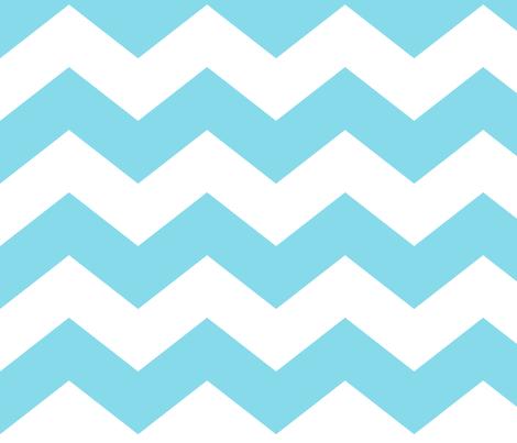 chevron lg sky blue fabric by misstiina on Spoonflower - custom fabric