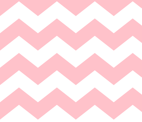 chevron lg light pink fabric by misstiina on Spoonflower - custom fabric