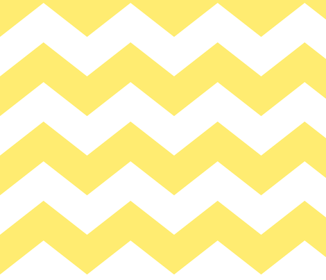chevron lg lemon yellow fabric by misstiina on Spoonflower - custom fabric