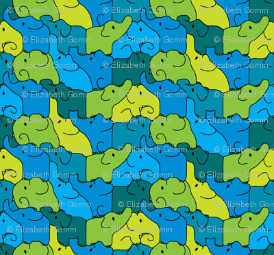 Elephant jigsaw
