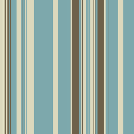 Eggshell Mud Linen Stripe fabric by marie_s on Spoonflower - custom fabric