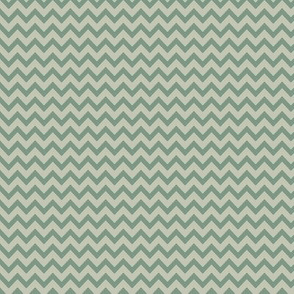 mini chevron - gray & laurel green