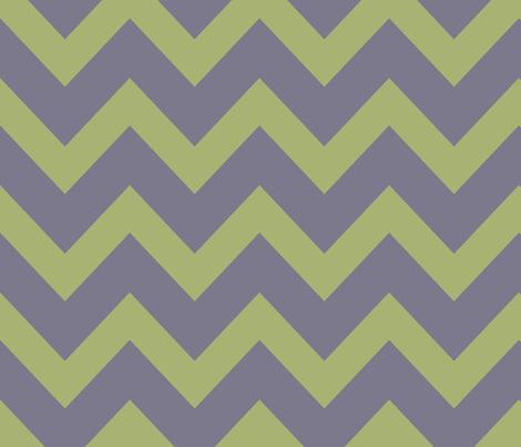 chevron - celadon & pale purple fabric by ravynka on Spoonflower - custom fabric