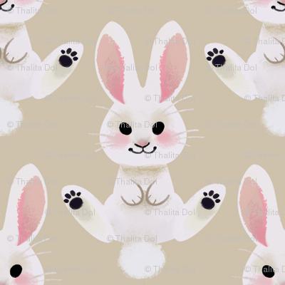 Spring Bunny (tan)