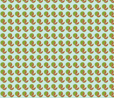 Melon Patch fabric by inktreepress on Spoonflower - custom fabric