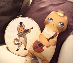The Cat & the Fiddle Plush