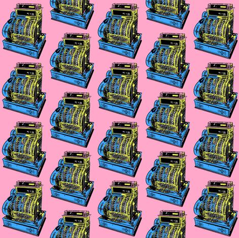 cash_register fabric by romi_vega on Spoonflower - custom fabric