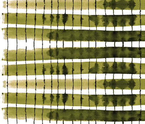 cestlaviv_kitchen stripes  fabric by cest_la_viv on Spoonflower - custom fabric