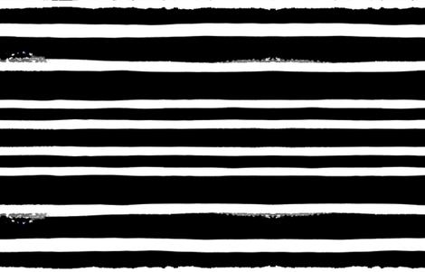 cestlaviv_ultrablack stripes fabric by cest_la_viv on Spoonflower - custom fabric