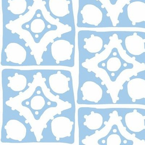 Spotty Diamond Tile (blue)