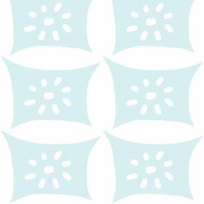 Dotty Pillow with Dots (lt. aqua)