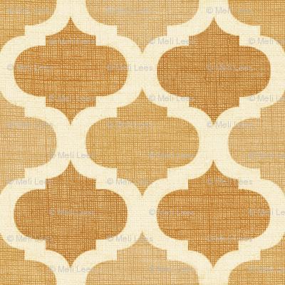 Linen  tile CAMEL