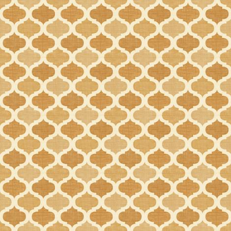Linen  tile CAMEL fabric by meli_lees on Spoonflower - custom fabric