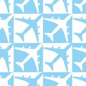 Blue Plane Checker