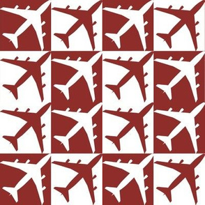 Red Plane Checker
