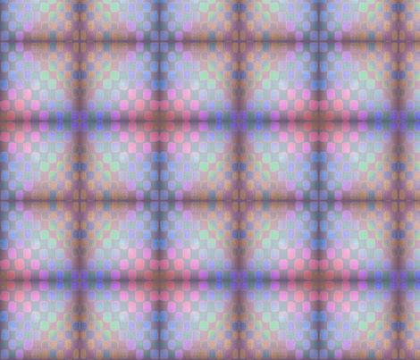 water_check dark mirror fabric by glimmericks on Spoonflower - custom fabric