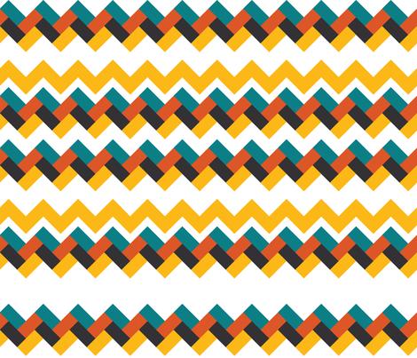 Herringbone fabric by kfay on Spoonflower - custom fabric