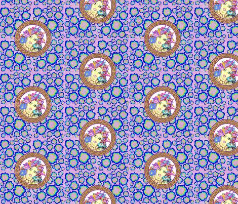 Multicolour_Medusa_Snake_Print fabric by chucklebug5 on Spoonflower - custom fabric