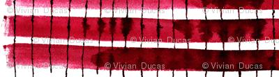 cestlaviv_kitchen stripes red