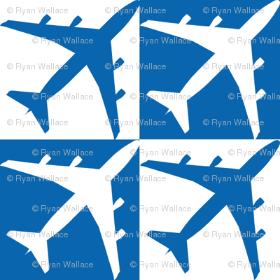 Dark Blue Plane Check