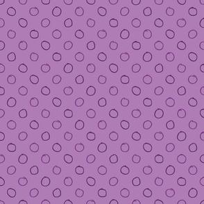 Pencil Dot in Plum