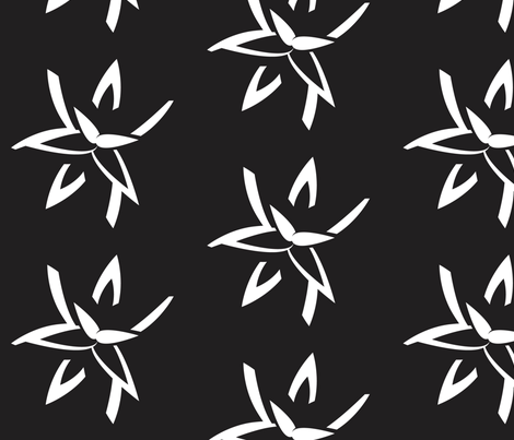 20 Noir fabric by dolphinandcondor on Spoonflower - custom fabric