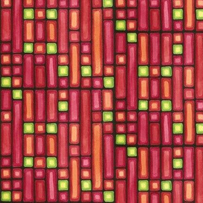 Red & Green Squares