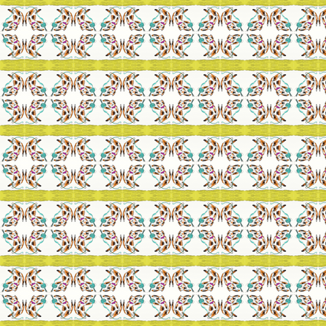 playing_kitty fabric by kristinbell on Spoonflower - custom fabric