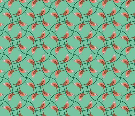 cwrenfin2 fabric by tommyandjimmy on Spoonflower - custom fabric