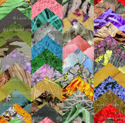 chevron collage