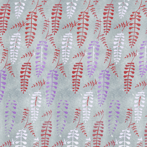 wisteria_repeat5 fabric by sary on Spoonflower - custom fabric