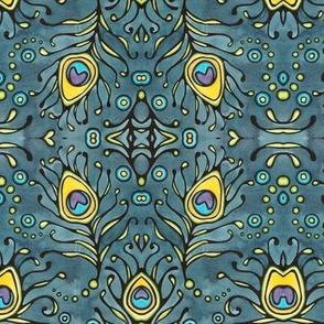 Peacock 1 Mirror