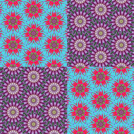 Flower Power 3 fabric by dovetail_designs on Spoonflower - custom fabric
