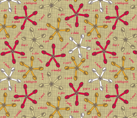 Measurements - They don't add up! fabric by glimmericks on Spoonflower - custom fabric