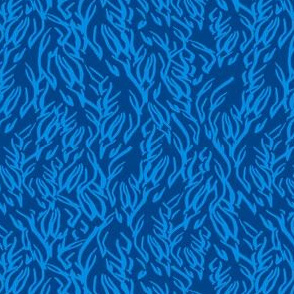 Feathered Flocks - Plumes, Blue