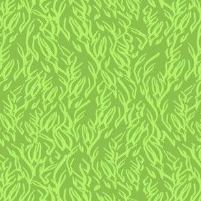 Feathered Flocks - Plumes, avocado