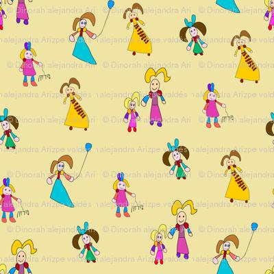 Princess and girls