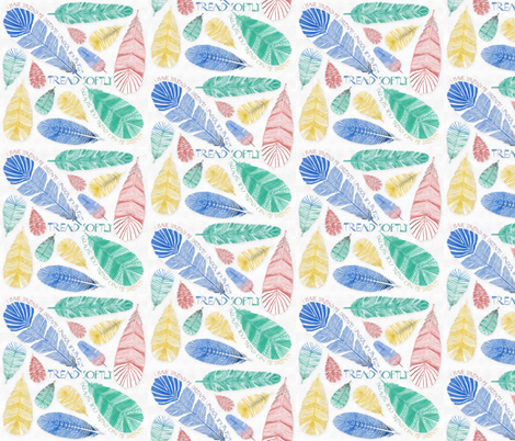 Tread Softly fabric by j9design on Spoonflower - custom fabric
