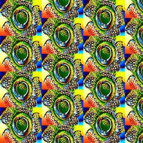 watercolor flower 10.5 x 9