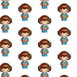 Blue geisha